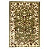 WEBTAPPETI.IT Alfombra clásica Ziegler alfombra de salón oriental salón 716 verde 200 x 300