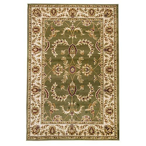 WEBTAPPETI.IT - Alfombra clásica Ziegler para salón oriental persa salón 716-verde 200...