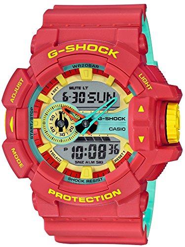 [カシオ] 腕時計 ジーショック ブリージ-ラスタカラー GA-400CM-4AJF メンズ レッド