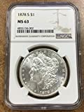1878 S Morgan $1 MS-63 NGC