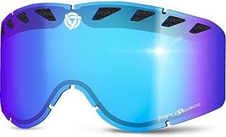 Triple 9 Optics SKG-27 LENS BLUE Replacement Lens for Saint Goggles - Blue