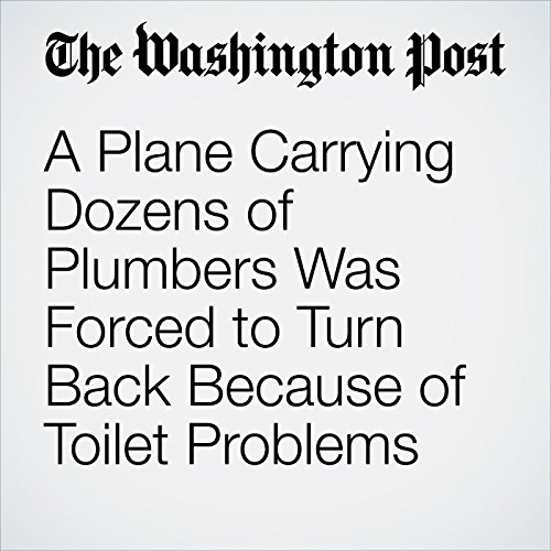 A Plane Carrying Dozens of Plumbers Was Forced to Turn Back Because of Toilet Problems copertina