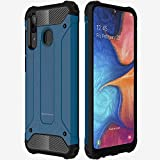 TECHGEAR Galaxy A20e Case [Tough Armoured] ShockProof