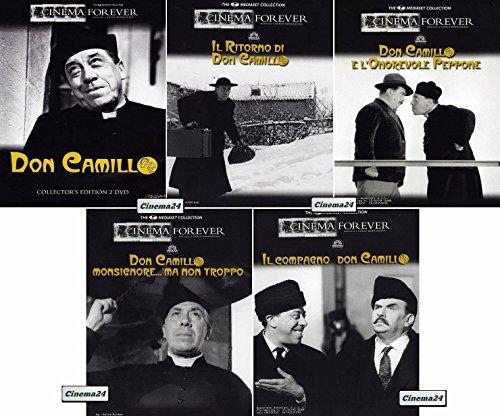 DON CAMILLO & PEPPONE - Raccolta 5 Film (Edizione Italiana)