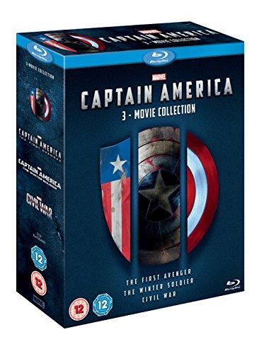 Captain America 1-3 Triplepack [Blu-ray] [UK Import]