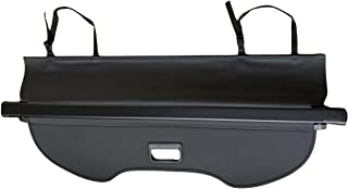 Kaungka Cargo Cover for 13-18 Ford Escape Cargo Cover Trunk Shielding Shade Black (Updated version:There is no gap between the back seats and the trunk cover)