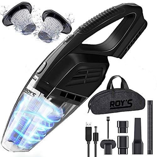 Roy's Handheld Vacuum Cordless, Portable Handheld Vacuum Cleaner with...