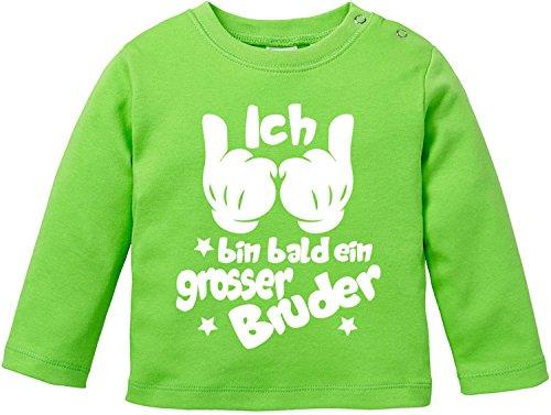 EZYshirt EZYshirt® Ich bin Bald EIN grosser Bruder Baby T-Shirt Longsleeve