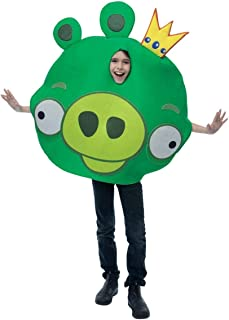 King Pig Green Costume