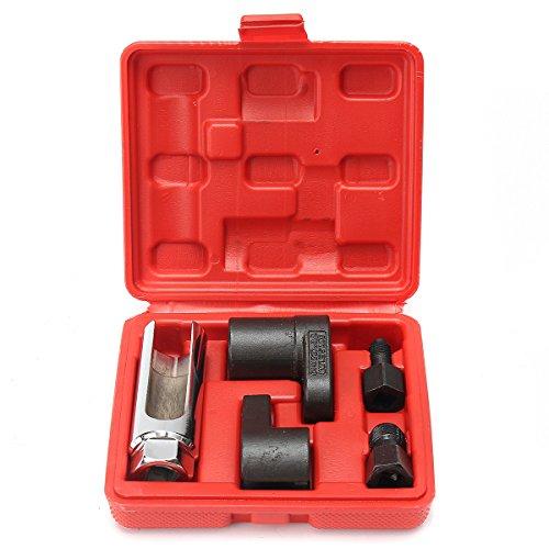 GOZAR 5 Stks Zuurstof Sensor Socket O2 draad installeren Offset moersleutel Vacuüm M12 M18