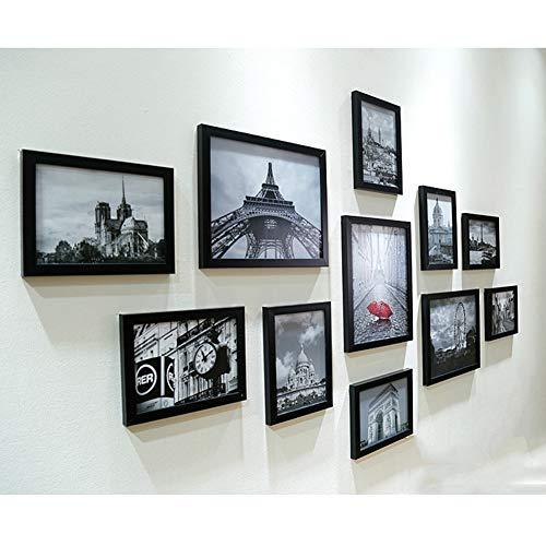 N A 11 Piezas/Set Colgante de Pared Marco de Fotos Set Decoración de Pared Picture
