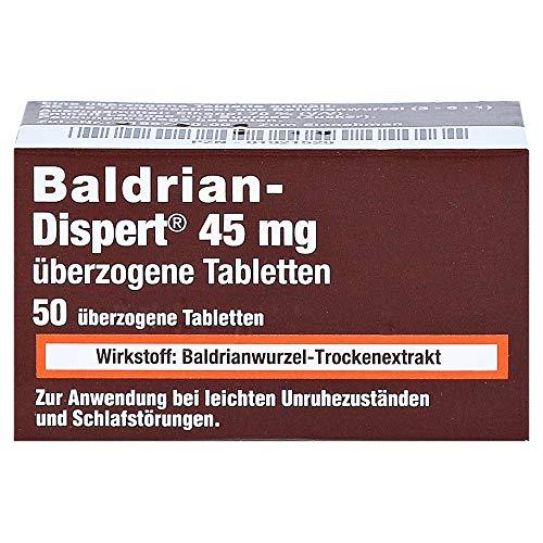 BALDRIAN DISPERT 45 mg überzogene Tabletten 50 St