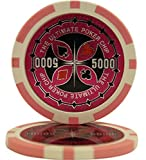 MRC 50 $5000 Ultimate Casino Clay Composite 14 Gram Poker Chips