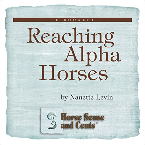 Reaching Alpha Horses cover art