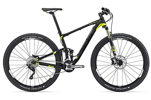 Giant Anthem X 29er mountainbike zwart/geel (2016), 49