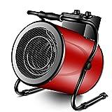 F-HEATER Les appareils de Chauffage 9000W Atelier d'économie d'énergie Petit Chauffage électrique Ventilateur Chauffage Speed Hot Chauffe-Tube,Rouge