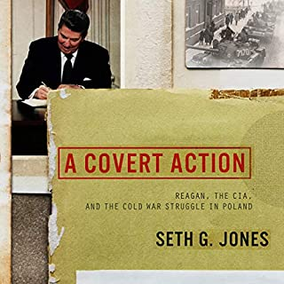 A Covert Action audiobook cover art