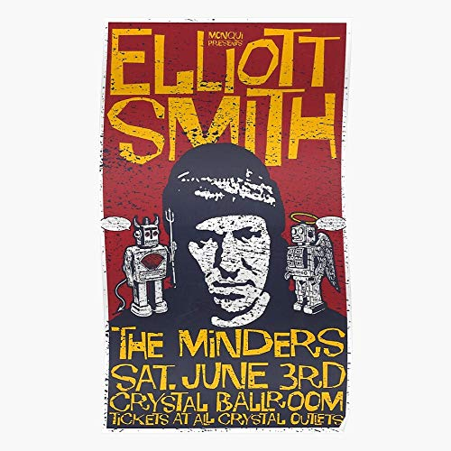 Freshmarque Pop 1990S Smiths Elliott Folk Icon 90S Legend Impressive Posters for Room Decoration Printed with The Latest Modern Technology on semi-Glossy Paper Background