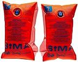 Sima - Manguitos (hasta 60 kg) Multicolor Naranja Talla:über 60 kg