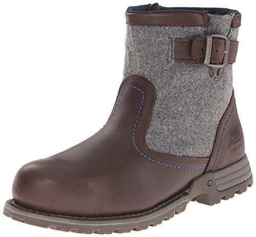 Caterpillar Women's JACE ST Industrial Boot, Mulch, 07.5 M US