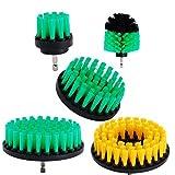 Lot de 5 brosses OxoxO -5,1cm / 7,6cm / 10,2cm / 12,7cm - Poils de dureté...