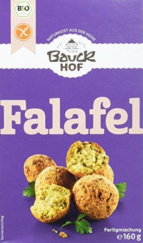Bauckhof Falafel Bio glutenfrei, 6er Pack (6 x 160 g) - Bio