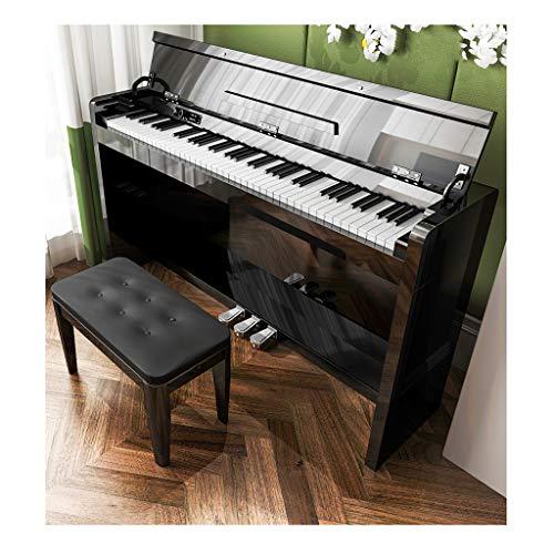 yankai Piano Droit Numérique 88 Touches Lestées De Taille Électrique, Marteau Lourd À 88 Touches pour La Maison Adulte, Professionnel Numérique, Sensation Proche du Piano À Queue 99,99%