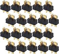 オーディオファン ミニ T型 2P コネクタ ブラック オス 20個