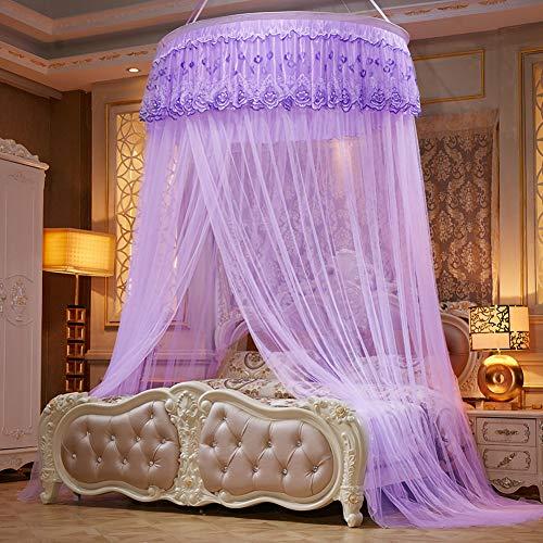 TYSYA groot muggennet voor bed, dome prinses, kant, ademend, muggenbescherming, veelzijdig, bedgordijn, voor meisjes, bruiloft, slaapkamer, decoratie, eenvoudig aan te brengen