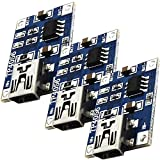 AZDelivery 3 x TP4056 Mini USB 5V 1A Controlador de Carga de Litio Li - Ion Battery Charger Module con eBook incluido