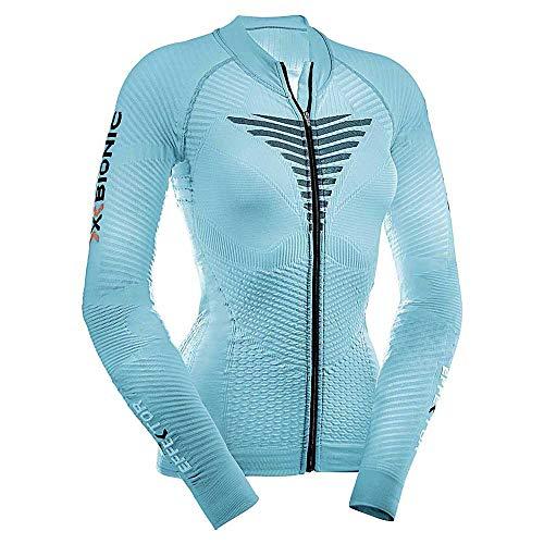 X-Bionic imperméable pour Adulte Biking effecteurs Power Lady Ow LG SL t-Shirt zippé XS Multicolore - Turquoise/Anthracite
