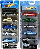 TIANLE Día de los niños Regalo de Juguete de Coches Hot Coche Ruedas Drift 5 Fast & Furious Speed Race Set Bundled with Racing 10-Car Pack 2 artículos
