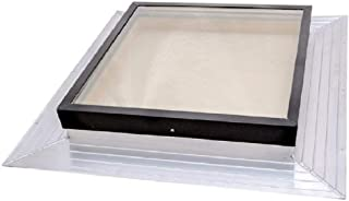 SIG Skylights FMB 22 1/2 x 22 1/2 Deck Mounted, Self-Flashed Skylight with Bronze Insulated Glass