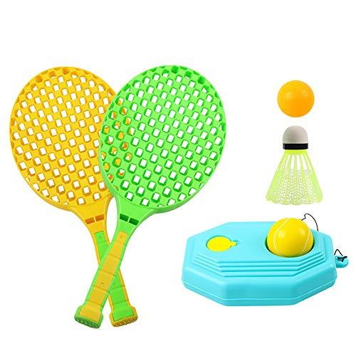 Aijin Tennisschläger, Sport-Spiel Tennis Baseball Sommer Spiel Strand Spielzeug Spielzeug Für Draußen Tennisschläger Trainingssatz Uitable Für Kindersportanzug Geschenk Spielzeug,A