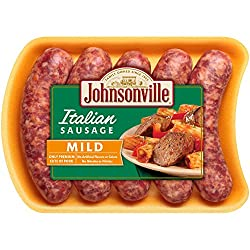Johnsonville, Mild Italian Sausage, 19 oz (Frozen)