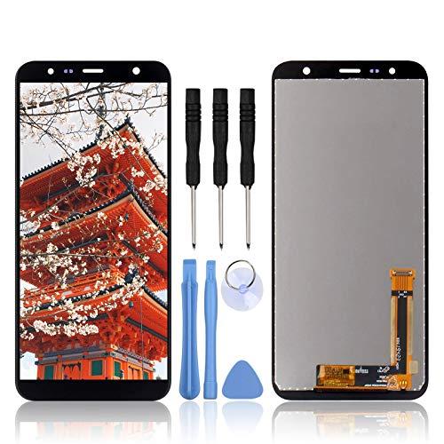 """LL TRADER Display für Samsung Galaxy J4+ / Galaxy J6+ Retina LCD Bildschirm und Digitizer 6.0 """"Glas Ersatz Samsung Galaxy J4 Plus / Galaxy J6 Plus Touchscreen + Reparaturwerkzeuge"""