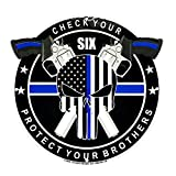 AIIZ Collectibles Punisher Thin Blue Line Metal Porcelain 12 inch Sign