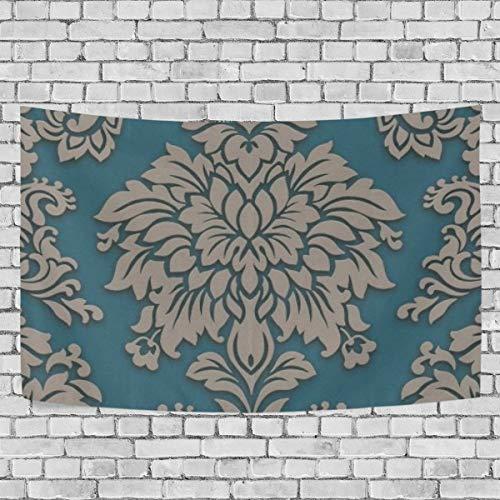 N/A Wandteppich, Wandbehang, Wohnwände, Lizzy London, Damast, perfekte Dekoration, Schlafzimmer, Wohnzimmer, Wohnheim