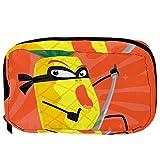 Bolsas de cosméticos de dibujos animados Ninja piña práctica bolsa de viaje Oragniser bolsa de maquillaje para mujeres y niñas