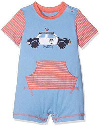 Hatley Mini Romper Barboteuse, Gris (on Patrol 400), 9 Mois Bébé garçon