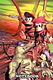 Notebook: Diddy And Dixie Kong , Journal for Writing, College Ruled Size 6' x 9', 110 Pages
