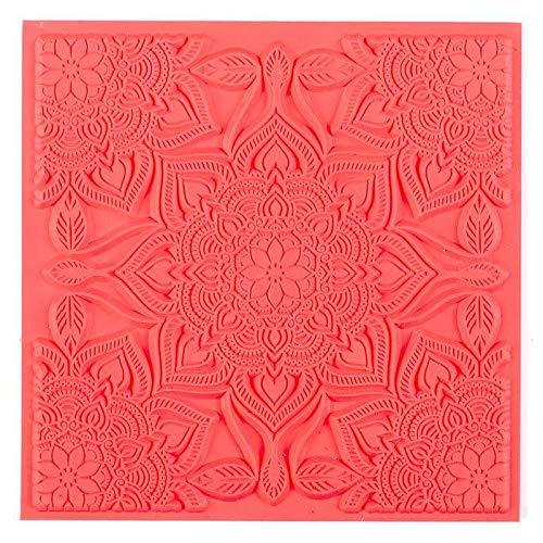 Tapis de texture souple - Boho chic - 9 x 9 cm