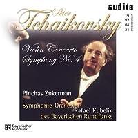Con Vn (D Major) Op. 35/Sym 4 (FM) Op. 36 by P.I. Tchaikovsky
