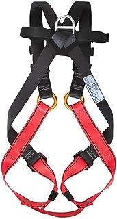 NewDoar Arnés de Escalada de Cuerpo Completo Seguro Cinturones de Seguridad para Montañismo, Escalada en Roca y Rappel