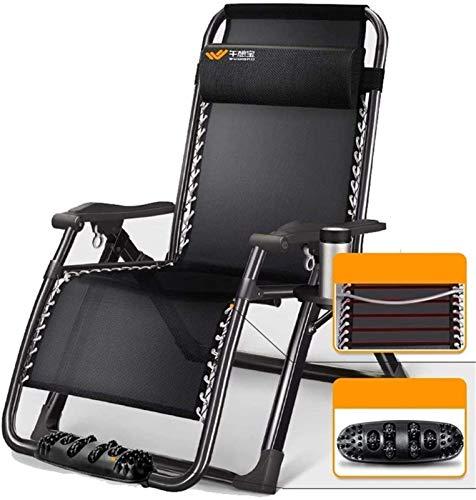 Tumbonas reclinables para jardín y sillas reclinables Silla plegable ajustable para tumbonas...
