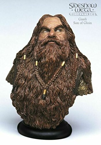 Lord of the Rings LOTR Gimli Bust Sideshow Collectibles