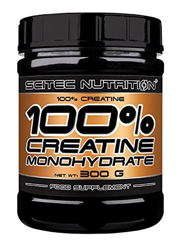 Scitec Nutrition 100{f8600efb82e185bd20768543019d50b18cf532f45b20b2b41f03bbc5fbbf0f30} Pure Creatine, 300g Dose