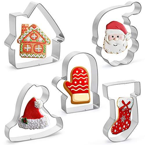 Catálogo de Cortadores de galletas navideños que puedes comprar esta semana. 8