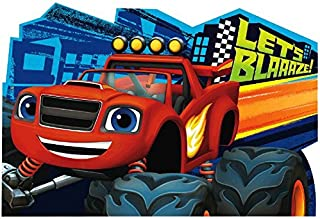 Blaze and the Monster Machines Postcard Invitations, Party Favor