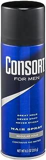Consort For Men Hair Spray Regular Hold 8.3 oz (Pack of 3)